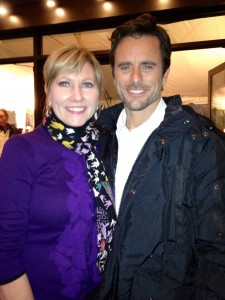 "Mary-Kathryn & Charles Esten aka Deacon on ""Nashville"""